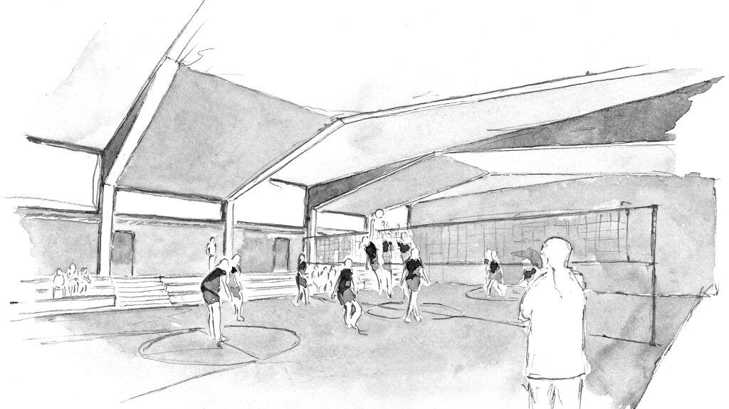 Einfeldsporthalle, Niederkassel Mondorf